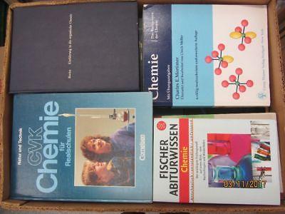 43 Bücher Chemie Chemieschulbücher Chemiefachbücher  Schulbücher u.a.