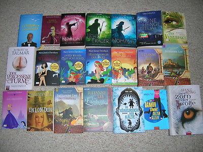 (B) Paket Fantasy - 21 Bücher - Torsten Fink, Mary Janice Davidson, Julianne Lee