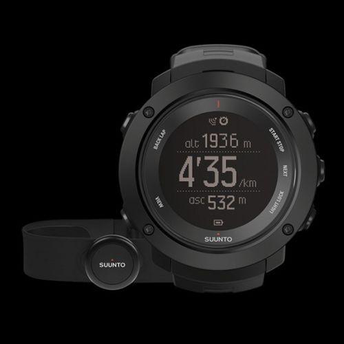 Suunto AMBIT3 Vertical Black HR Multifunktions GPS Uhr - Neu
