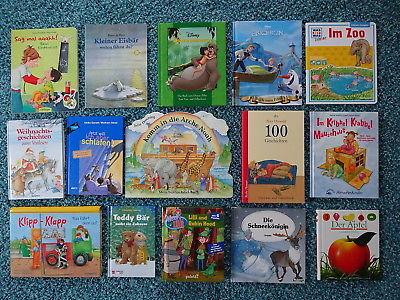 Bücherpaket 35 Kinderbücher Papp-Bilderbücher für kleine Kinder Disney Was Ist