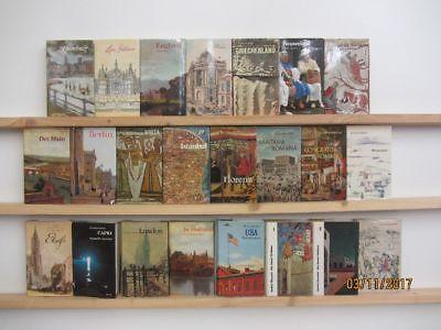 23 Bücher Prestel Verlag Reiseberichte Länderberichte  Kunst Kultur Geschichte