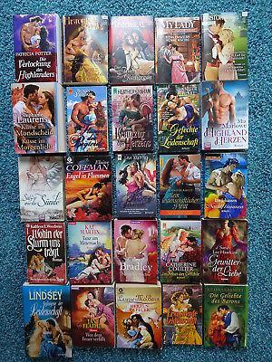Bücherpaket 25 historische Liebesromane: Cora Historical Kleypas Martin Marlowe