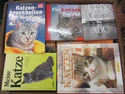 43 Bücher Bildbände Katze Katzenpflege Katzenrassen Katzenerziehung