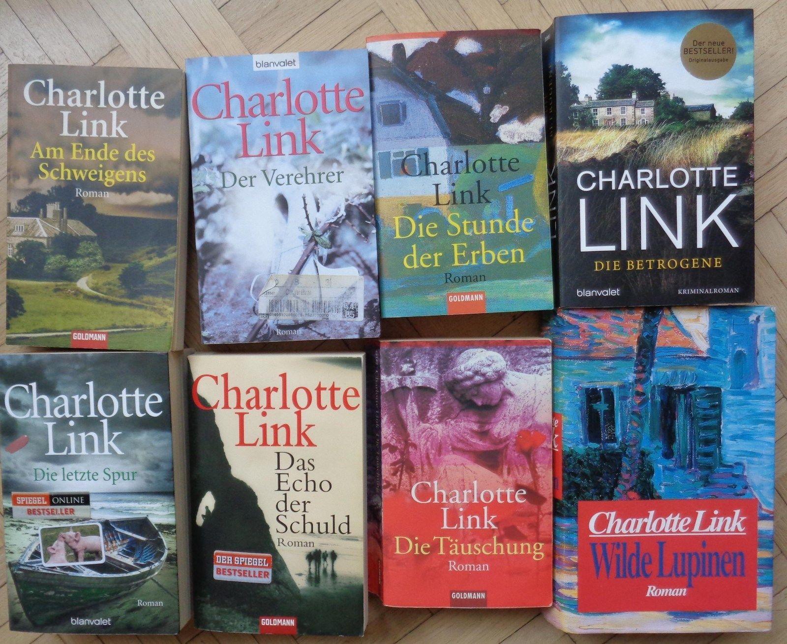 KRIMI PAKET 8 x Charlotte Link