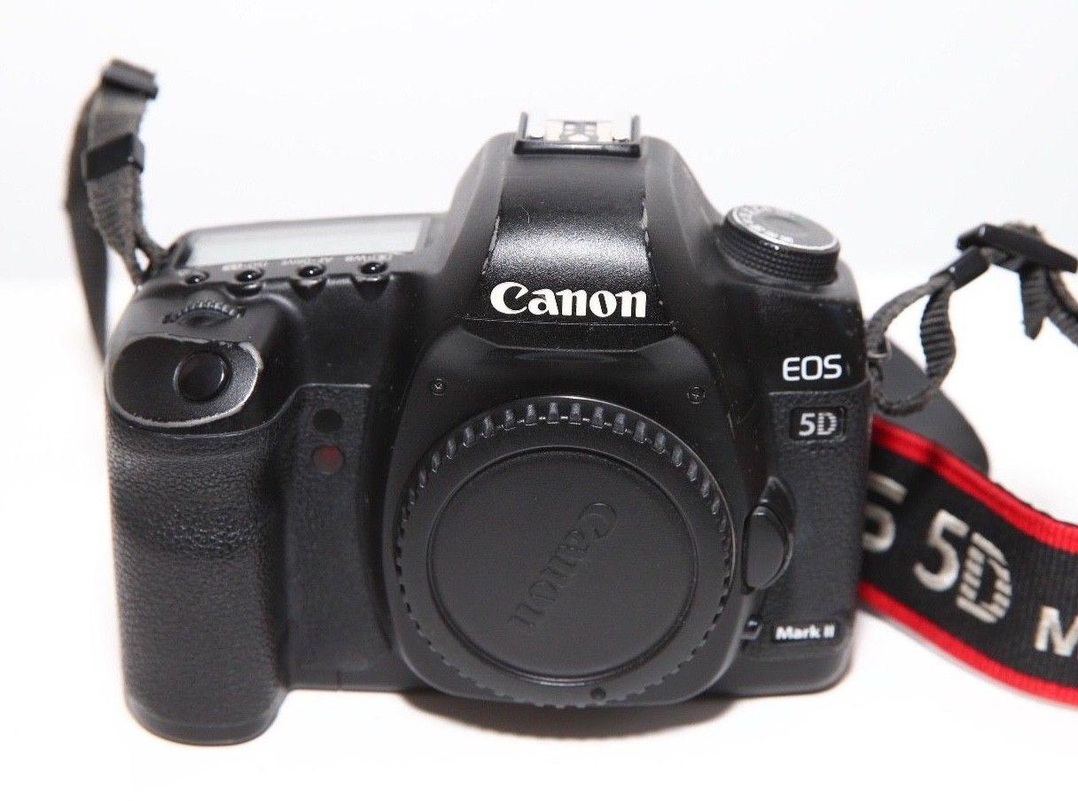 Canon EOS 5D Mark II 21,1 MP Digitalkamera (nur Gehäuse) gebraucht C