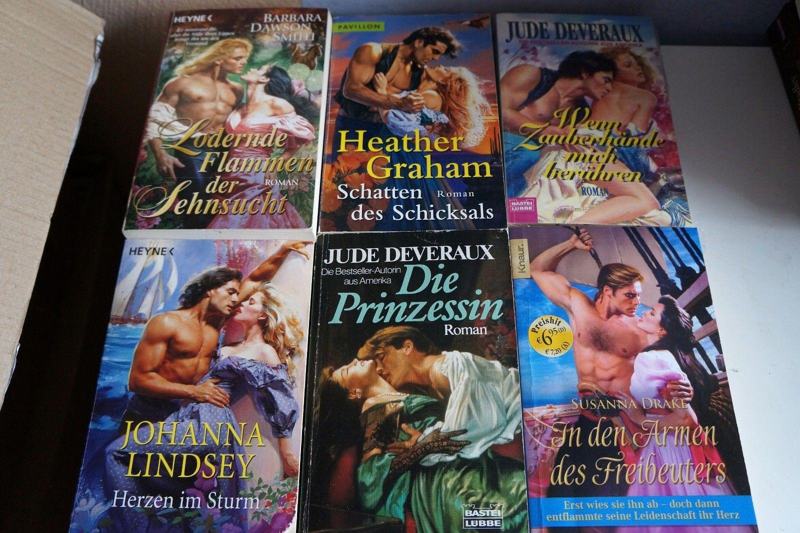 33 historische liebesromane, highland,Lindsey, Deveraux, Bücherpaket, ab 1€