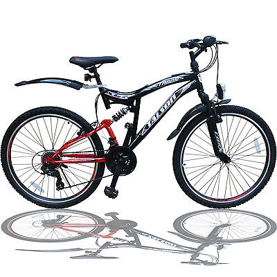 26 ZOLL MOUNTAINBIKE SHIMANO 21GANG 26