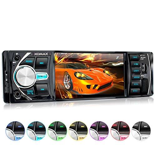 XOMAX XM-VRSU414BT Autoradio / Moniceiver + 10 cm / 4