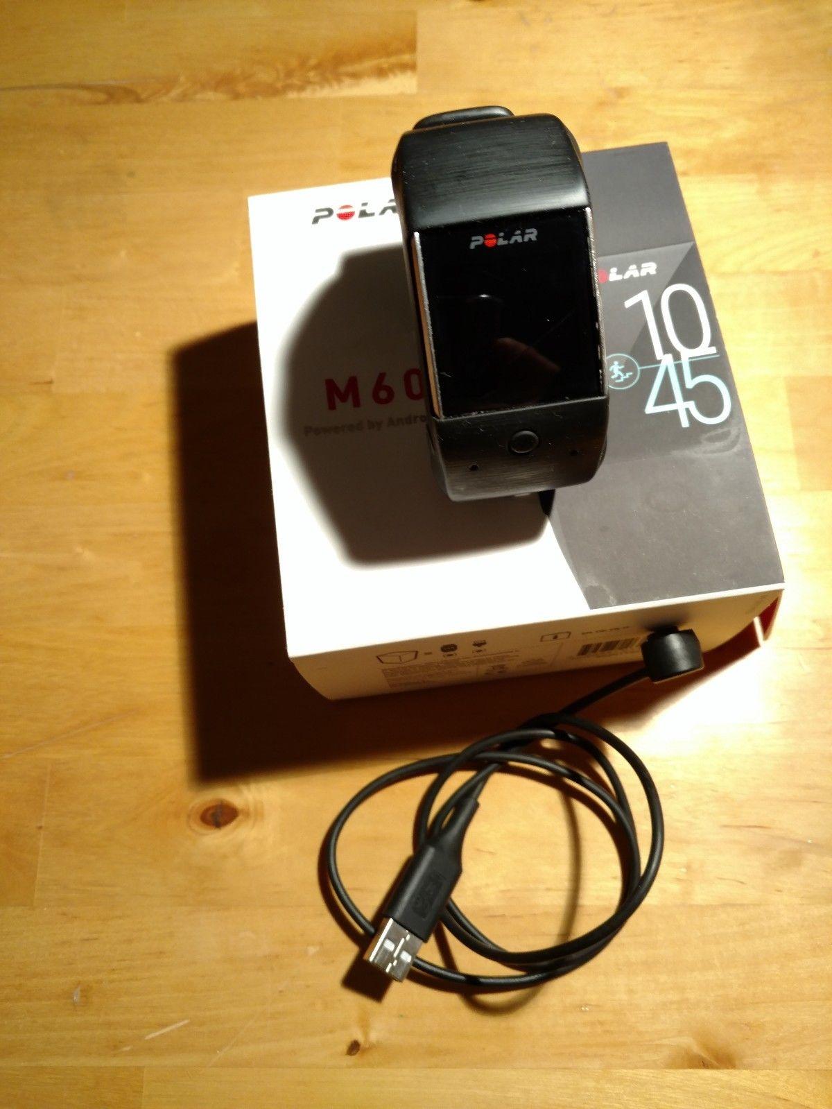 Polar M600 Sport- Smartwatch Pulsmessung am Handgelenk, GPS  schwarz