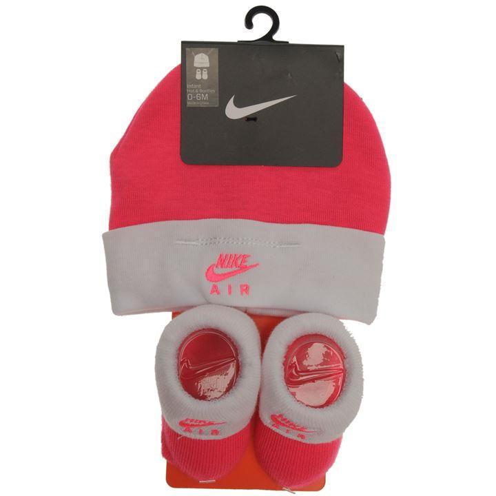 Nike Baby Debut Set Schuhe + Mütze Mädchen Gr. 0-6 Monate, Pink neu Newborn Baby