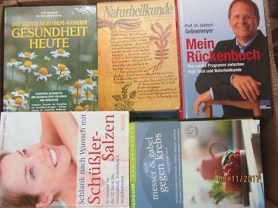 45 Bücher Gesundheit Medizin Selbstheilung Naturmedizin Naturheilkunde