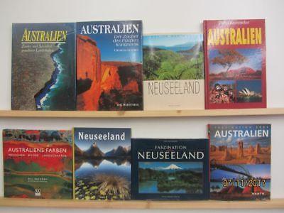 20 Bücher Bildbände Australien Neuseeland