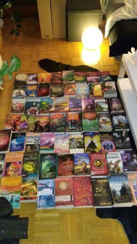 60 Fantasy Bücher Bücherpaket z.T ganze Serien Top!!