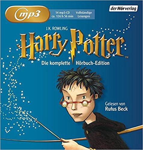 Harry Potter: Die komplette Hörbuch Edition - MP3 Audio, Ungekürzte Ausgabe.