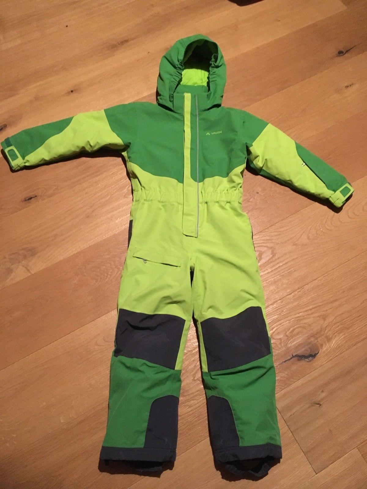 Vaude Kids Suricate II Schneeanzug Overall, grün, Gr. 110/116 Winteranzug