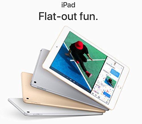 Apple iPad Wifi (Neue iPad–Neueste Modell–2017) (ersetzt iPad Air 2) schwarz grau - space gray 32 gb