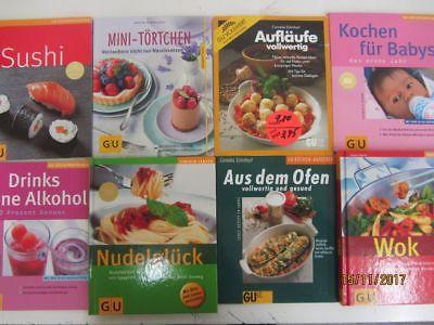 120  Bücher Softcover GU Ratgeber Essen und Trinken Gräfe+ Unzer