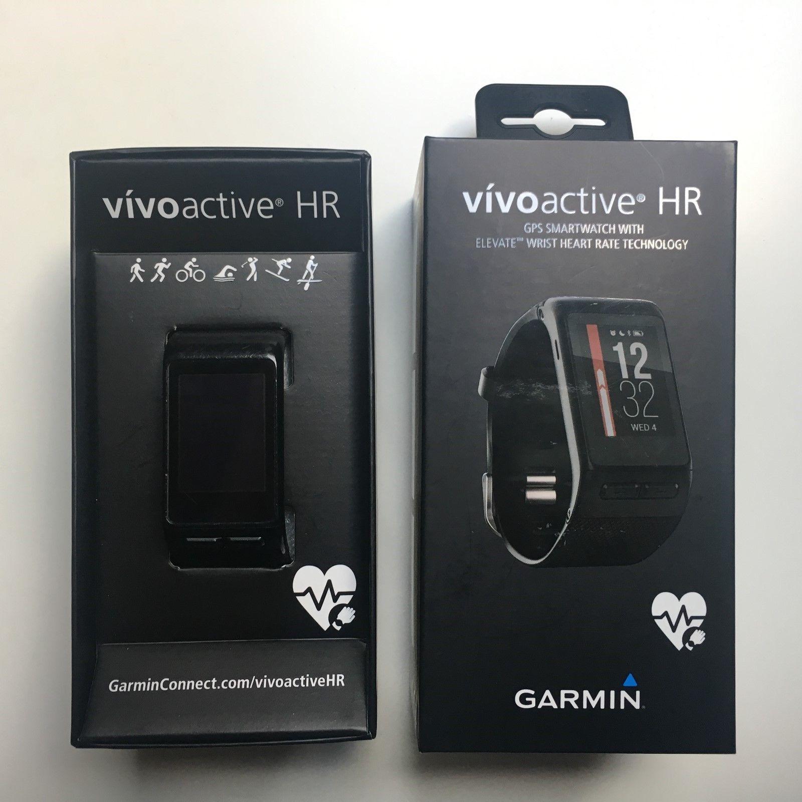 Garmin Vivoactive HR, Sport-GPS-Smartwatch, OVP, neues Originalarmband