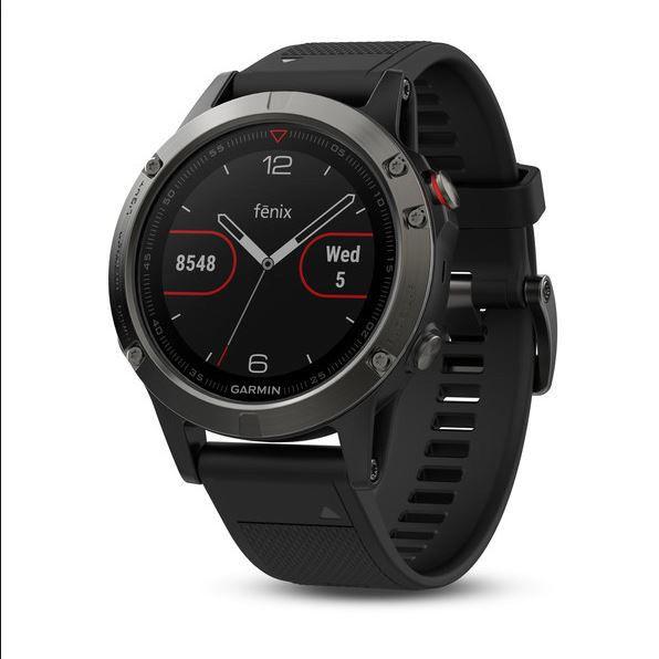 Garmin Fenix 5X Saphir GPS Multisport Smartwatch fast neu