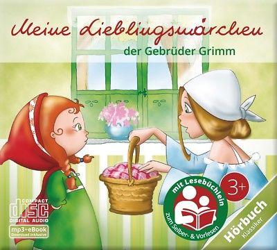 Meine Lieblingsmärchen - Hörspiel CD für Kinder ab 3   Hörbuch