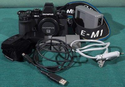 Olympus OM-D E-M1 16.0 MP Body + Zubehörpaket