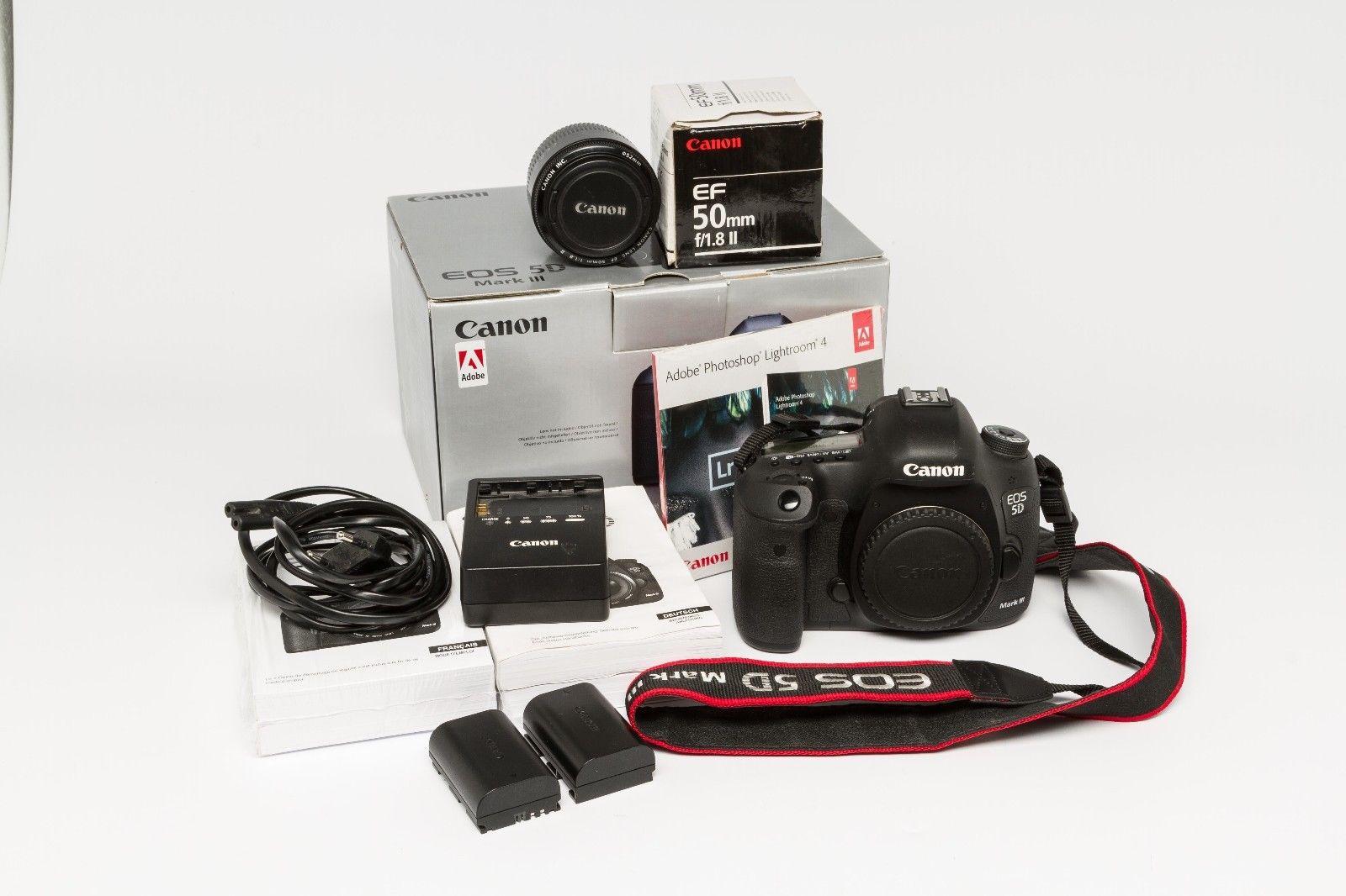 Canon EOS 5D Mark III 22.3 MP DSLR-Digitalkamera - wenig Auslösungen