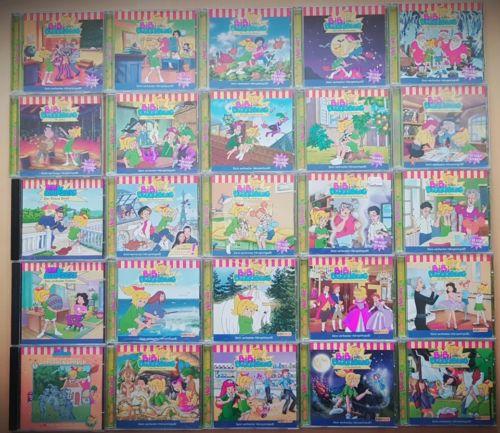 Bibi Blocksberg CD Sammlung Kinder Hörspiel