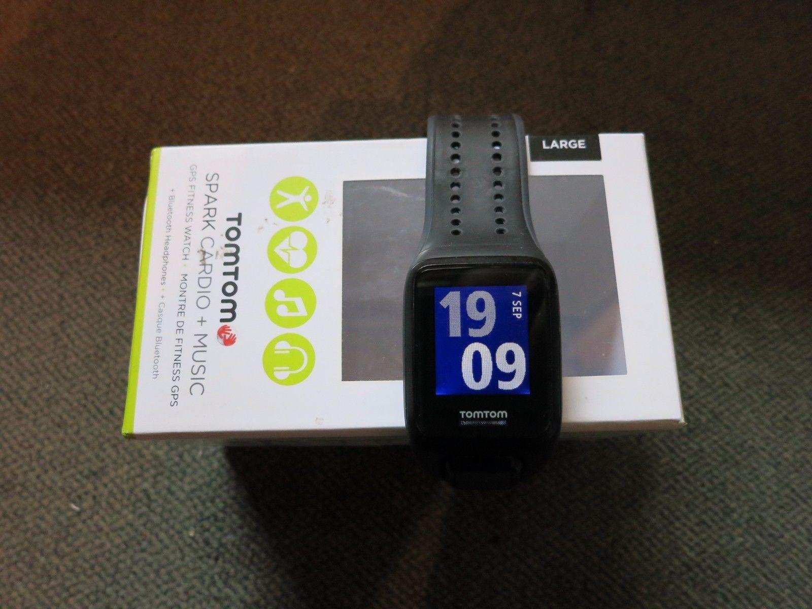 TomTom Spark Cardio + Music (large), GPS-Sportuhr