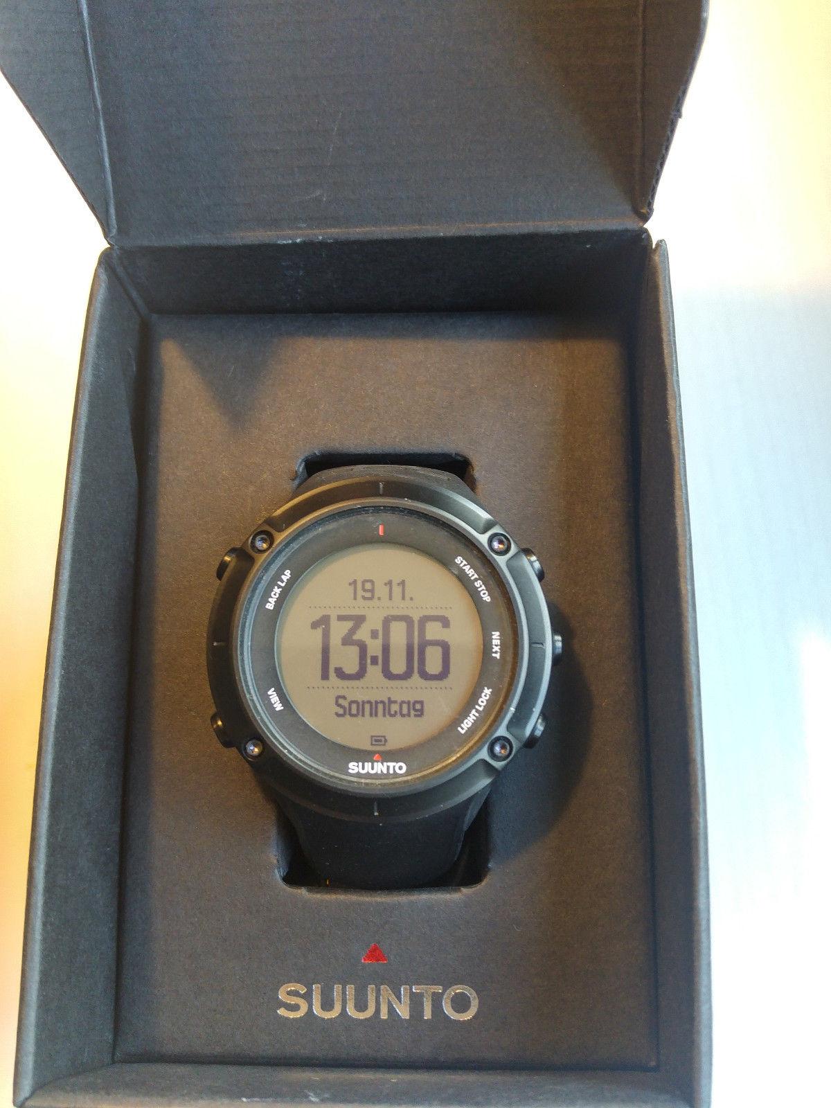 Suunto Ambit3 Peak Black (HR) Sportuhr GPS-Watch