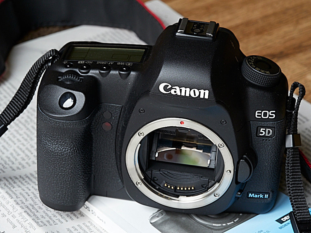 Canon EOS 5D Mark II Body - Top Zustand, OVP