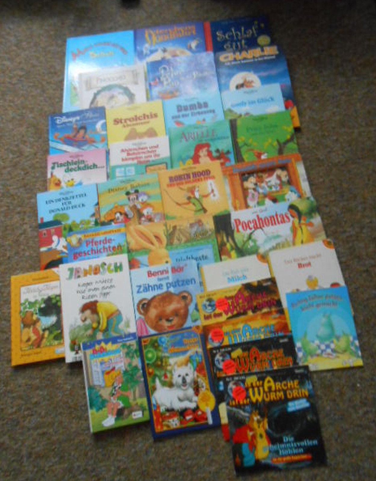 Buchpaket über 28 Kinderbücher, u.a. Disney,  Bilderbücher, Kleinkinder,