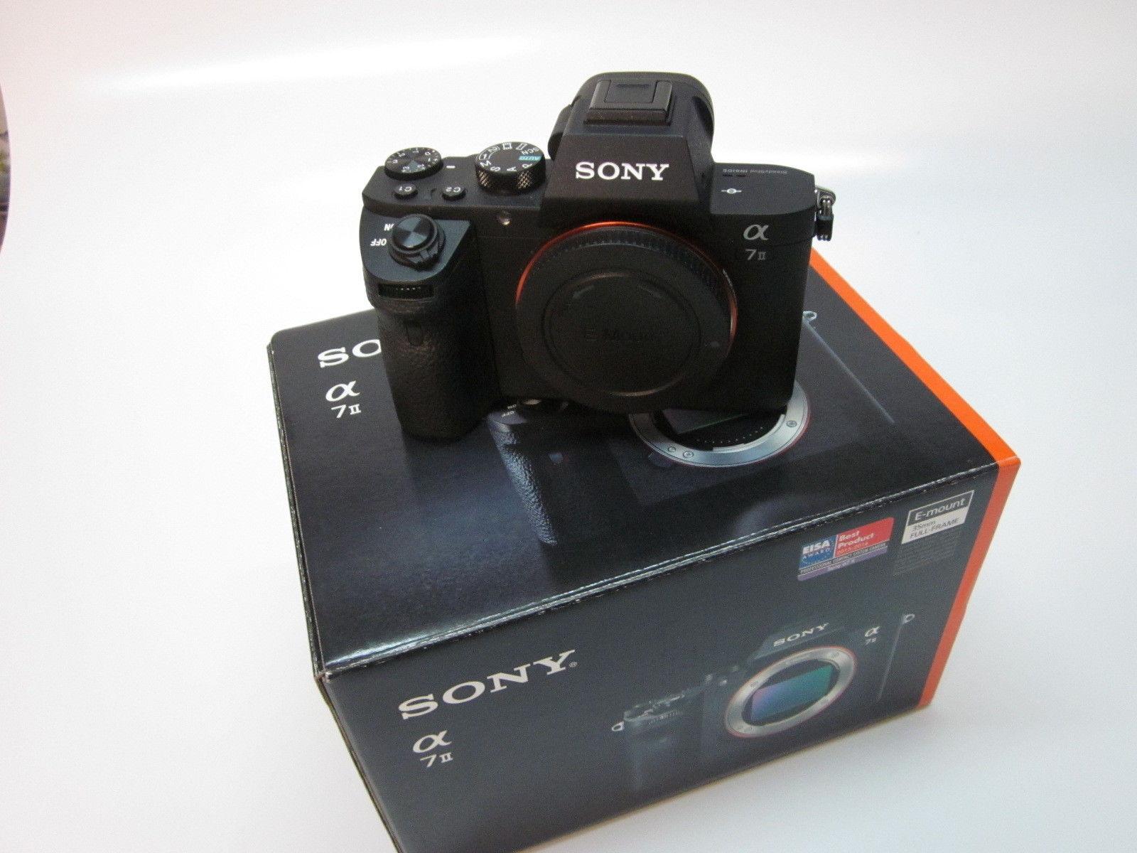 Sony Alpha ILCE-7M2 24.3 MP Digitalkamera - Schwarz (Nur Gehäuse)