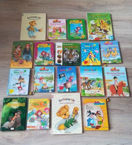 Kinderbücherpaket für Mädchen 18 Bücher!!! Zwei Doppelbänder!