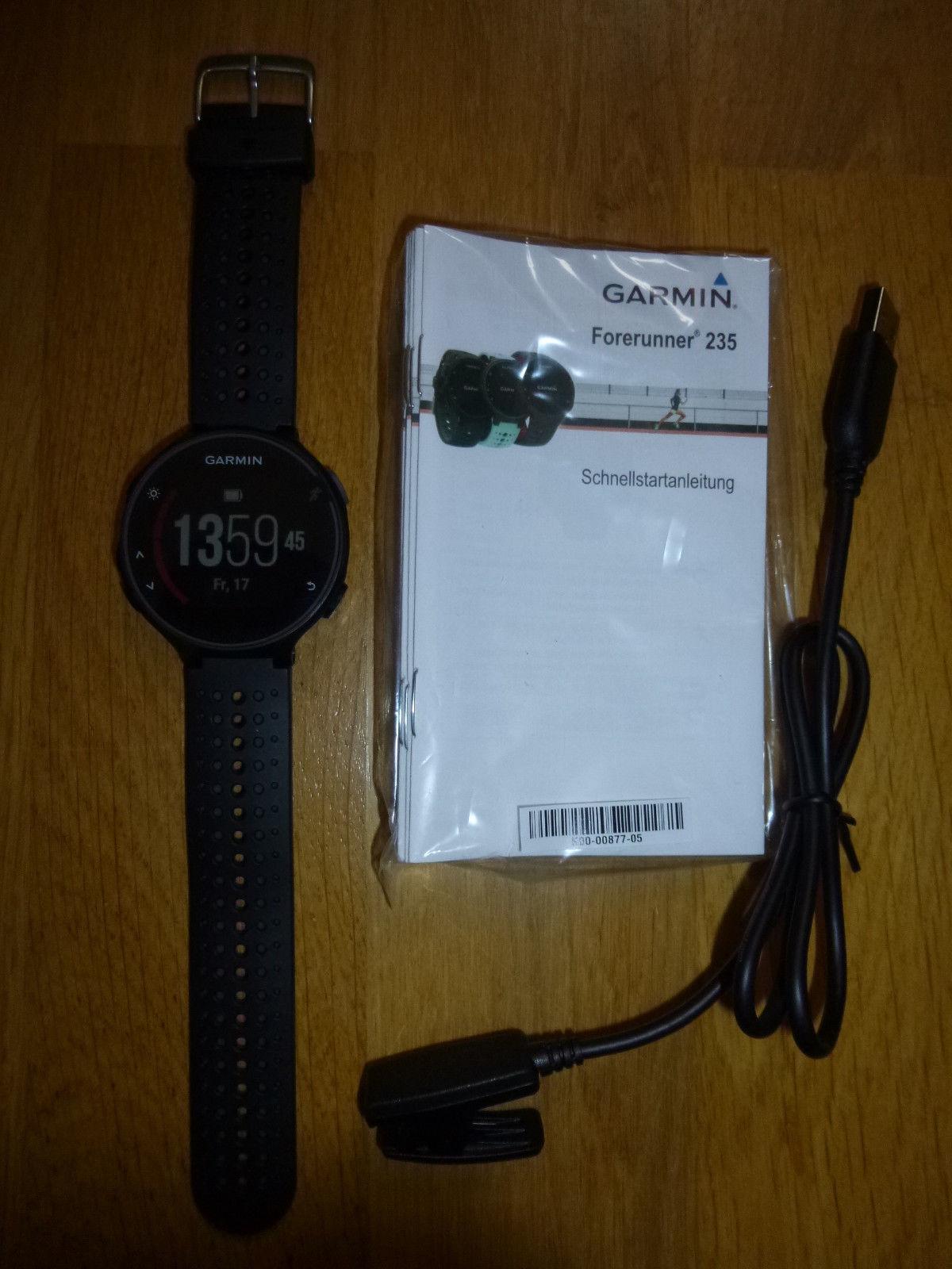 GARMIN FORERUNNER 235 Pulsmessung am Handgelenk - GPS-Laufuhr, Sport-Watch neuw.