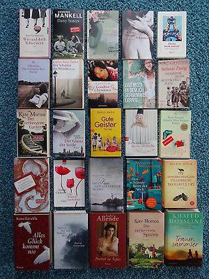 Bücherpaket 25 Frauenromane: Zweig Morton Mankell Zafón Stockett Allende Gavalda