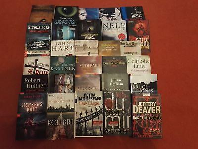 Grosses Krimi-BücherPaket  30 Bücher
