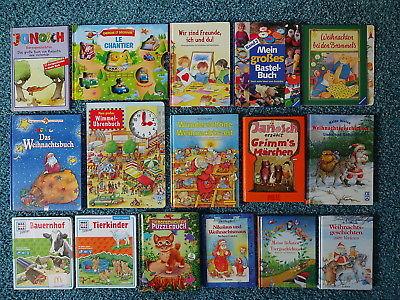 Bücherpaket 35 Kinderbücher Papp-Bilderbücher für kleine Kinder: Janosch Was Ist