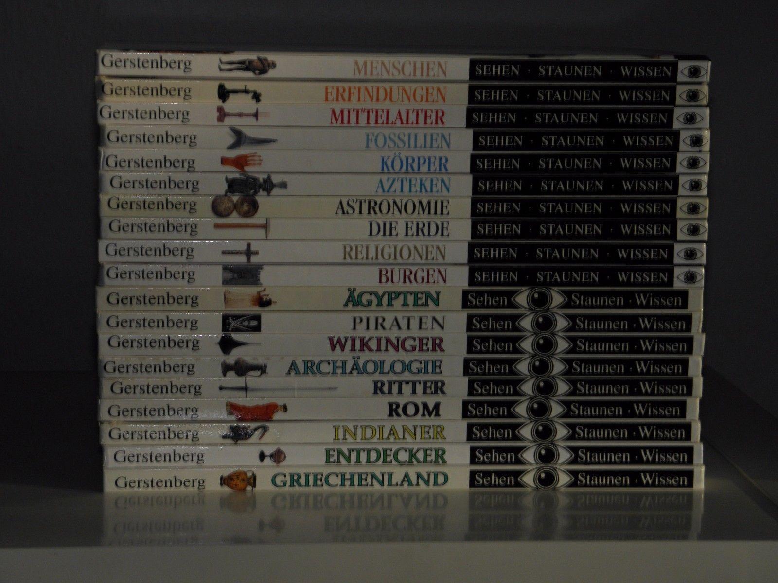 Sehen- Staunen- Wissen -- Sammlung -- 19 Bücher -- Gerstenberg Verlag