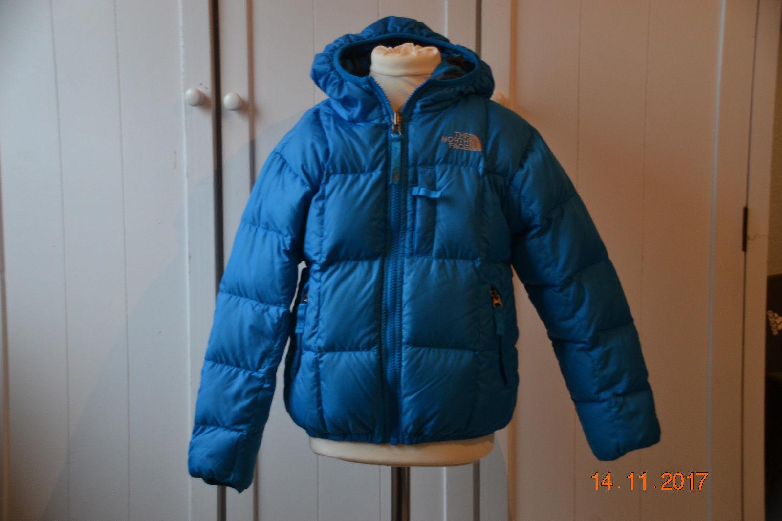 online retailer d1cc3 bf89f The North Face Daunenjacke Winterjacke blau Gr. 116 Mädchen Jungen TOP