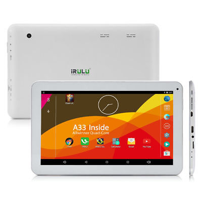 Google Android Tablet PC 10,1 Zoll Quad Core 8GB Dual Kamera HD BT WiFi Weiß