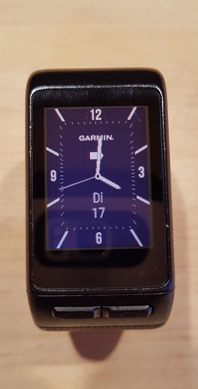 Garmin Vivoactive HR L Fitness Tracker Smartwatch GPS Sport Uhr schwarz