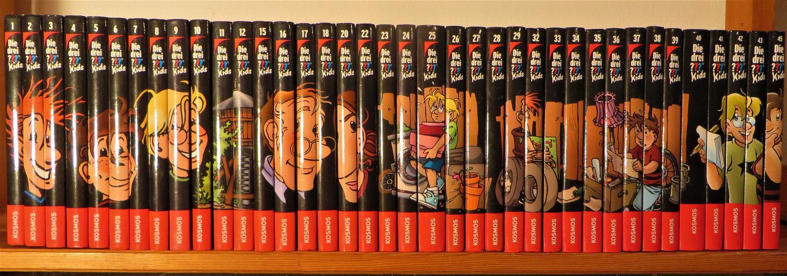 Die drei ??? Fragezeichen Kids Sammlung - 38 Bücher
