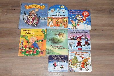 Kinder- Bücherpaket Weihnachten & Astrid Lindgren Hörspiel-3er CD ~ Licht Sound