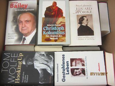 35 Bücher Biografie Biographie Memoiren Autobiografie Lebenserinnerung
