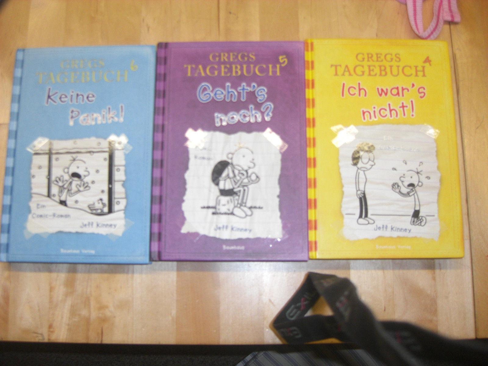 3 x GregsTagebuch ~ Band ,4,5 und 6~ Jeff Kinney