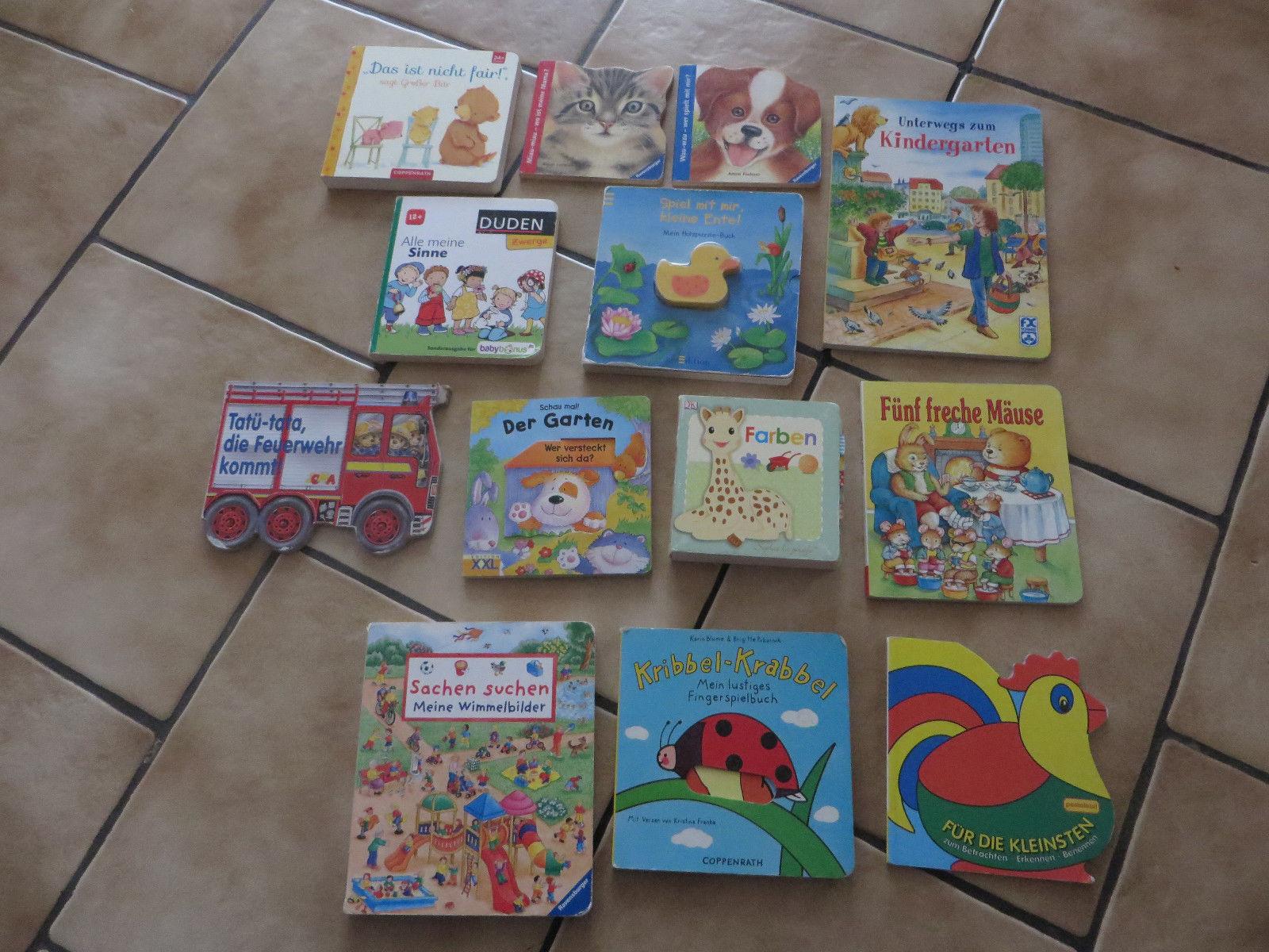 Kinderbücher Paket 13 Bücher Wimmel Feuerwehr
