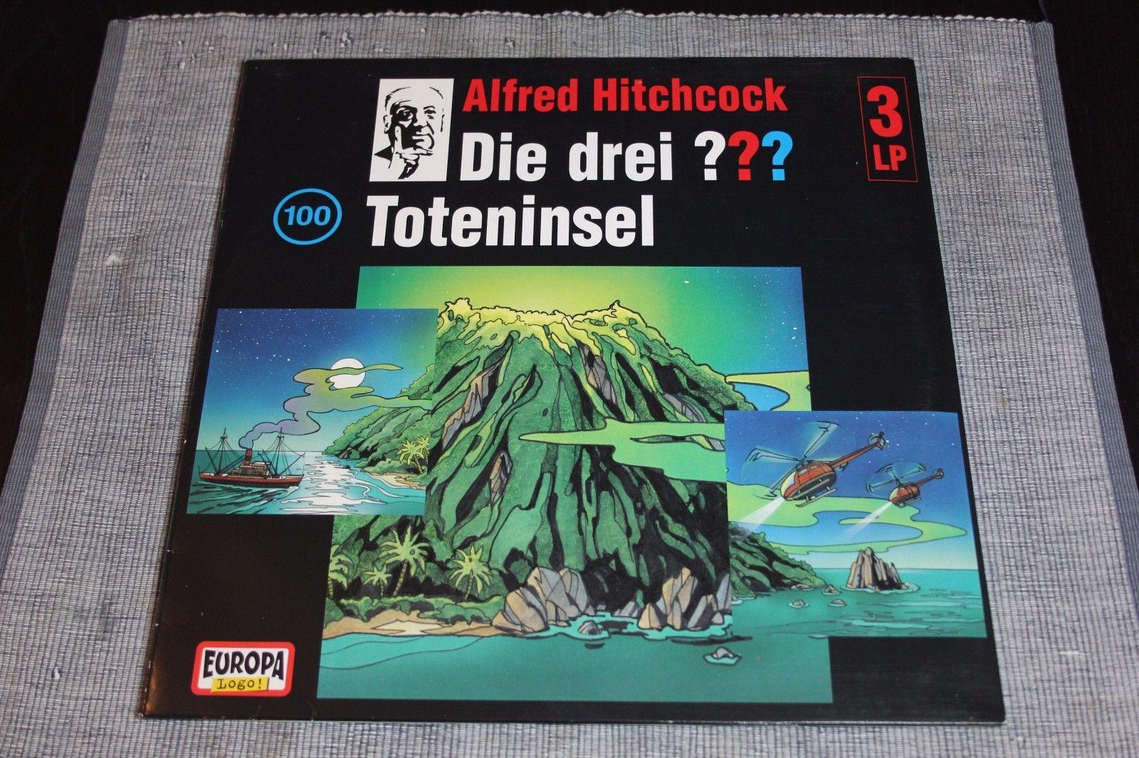 Die Drei Fragezeichen - Toteninsel 3LP Vinyl Folge 100 ???