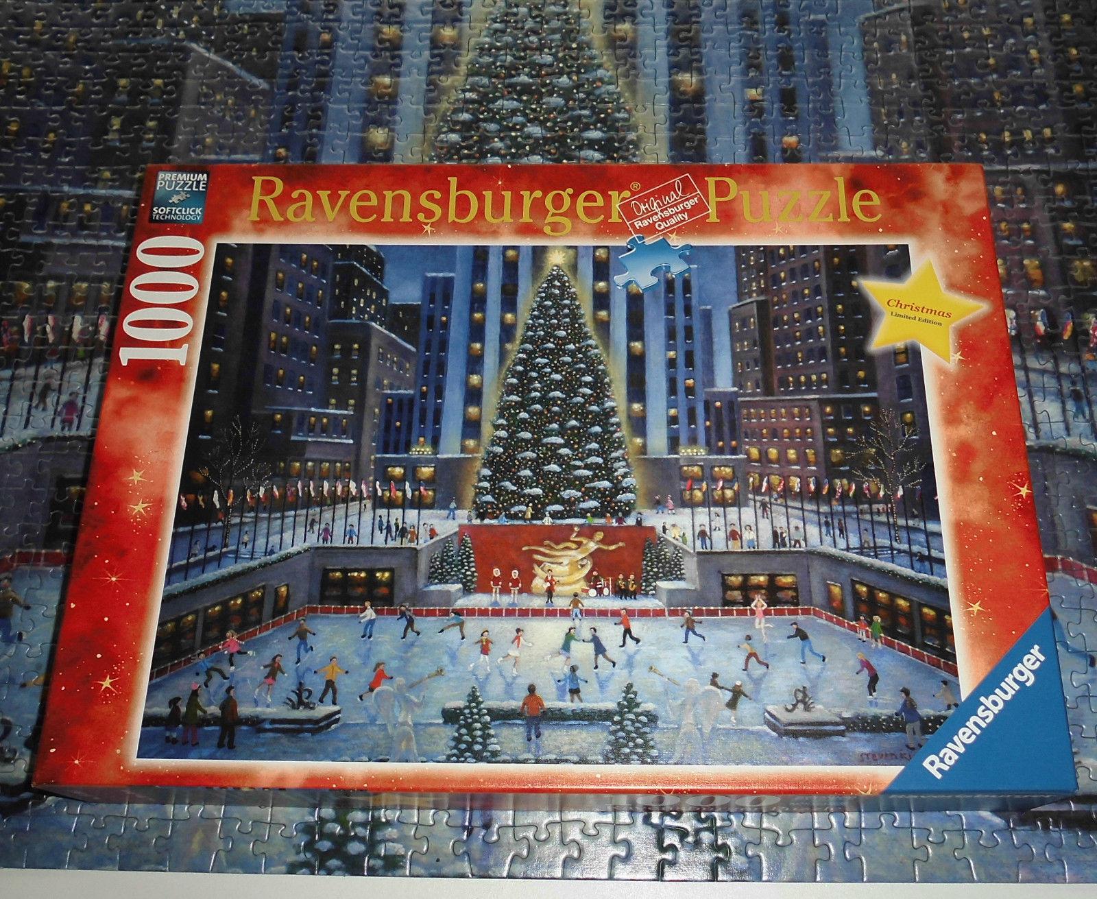 Ravensburger Weihnachtspuzzle 1000 Teile, Christmas NY limited Editon selten rar