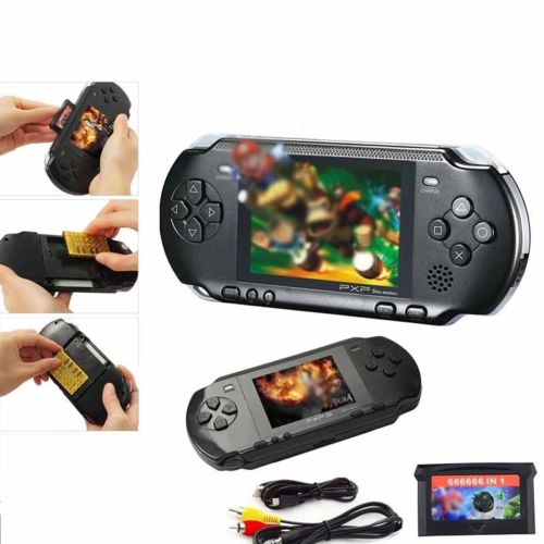 16 Bit PXP Portable Video Spiel hangehalten Konsole integrierter 318 Retro