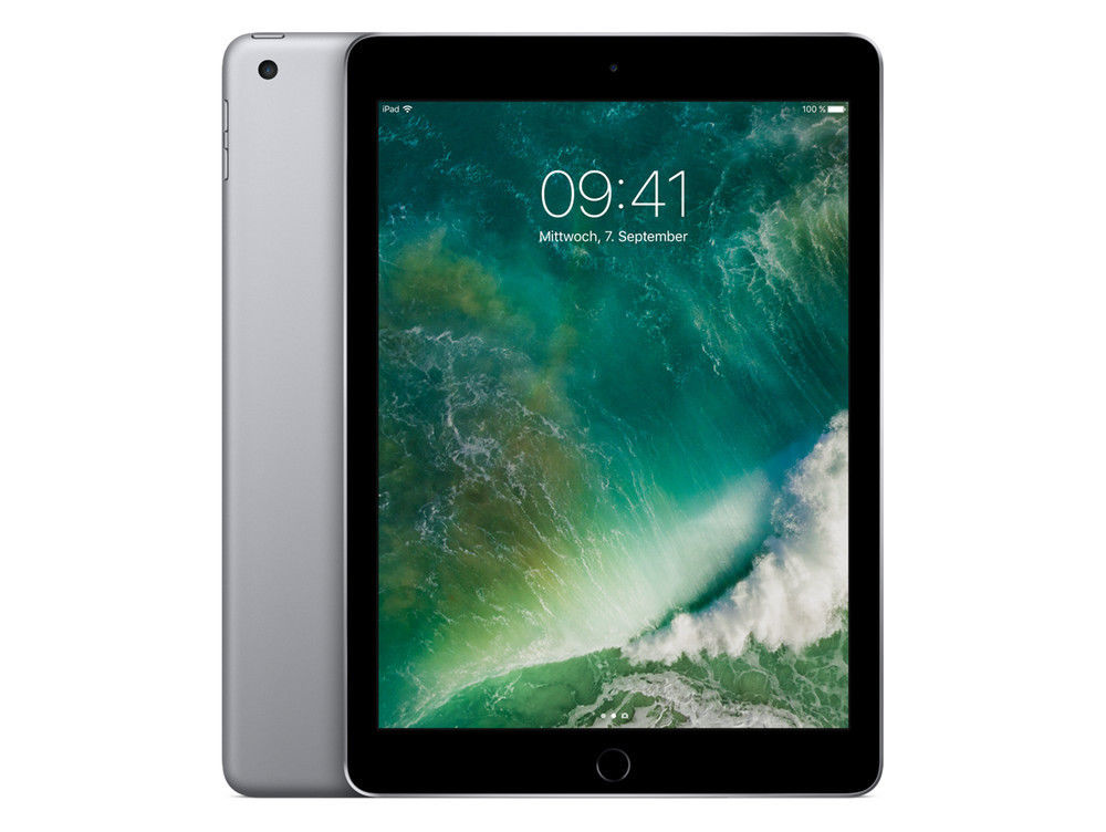 Apple iPad 9,7' - 5.Generation / 5G - 32GB - Wi-Fi + Cellular - Spacegrau - 2017